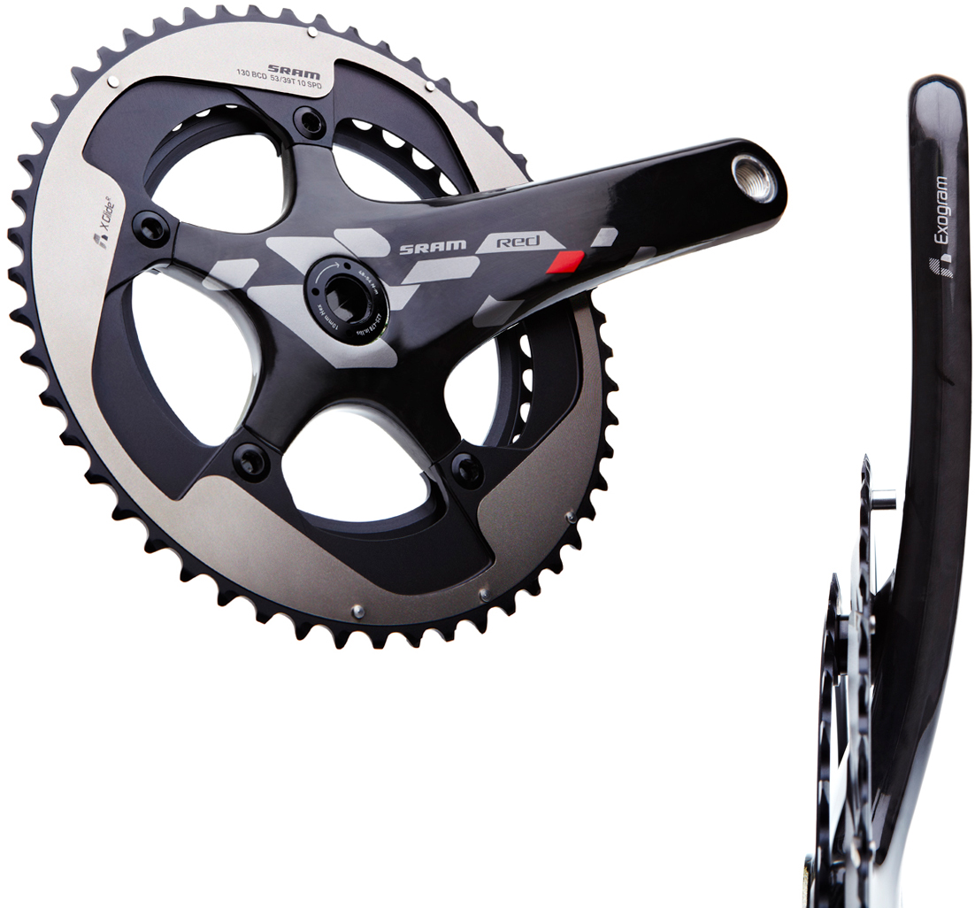 SRAM Red Exogram BB30 Compact Chainset