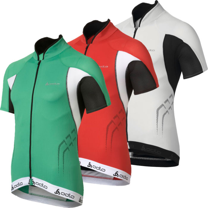  Power Full Zip Short Sleeve Jersey