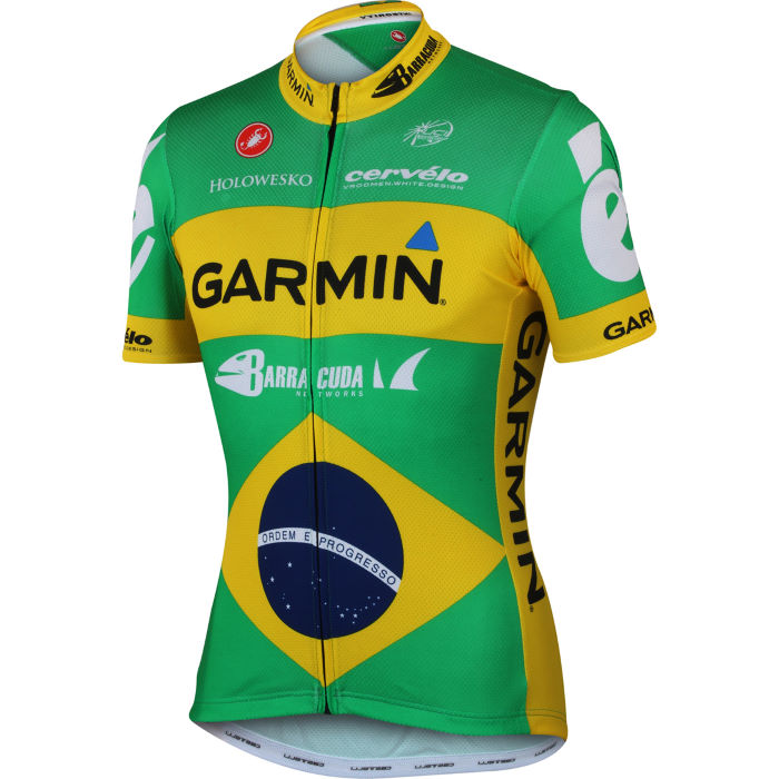 Garmin Barracuda Brazilian Champion Jersey - 2012