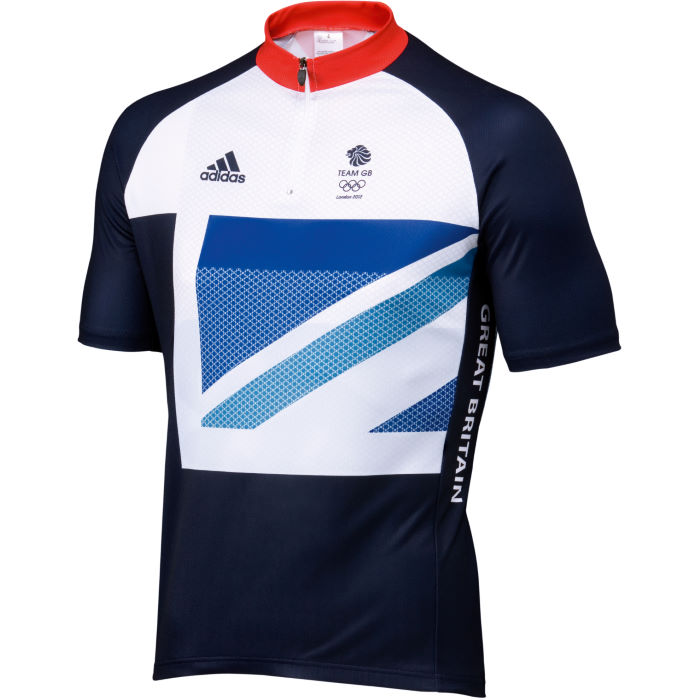 London Olympics 2012 Team GB SS Cycling Jersey