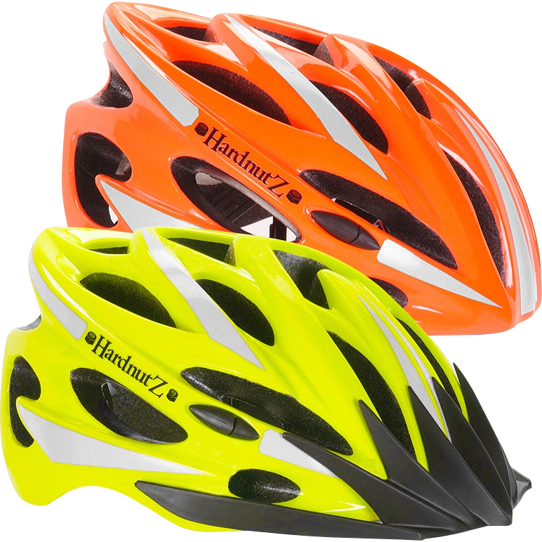 Hardnutz Hi-Vis Road Cycling Helmet