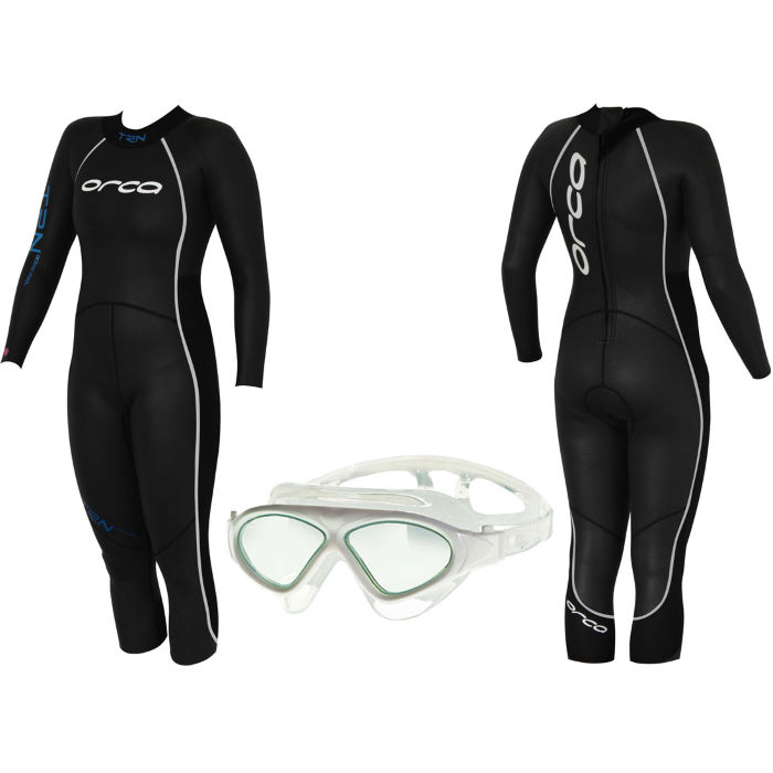 TRN Wetsuit & FREE Zoggs Tri Vision Mask