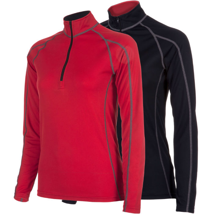 Women's Corefit L/S Zip Neck Baselayer AW12