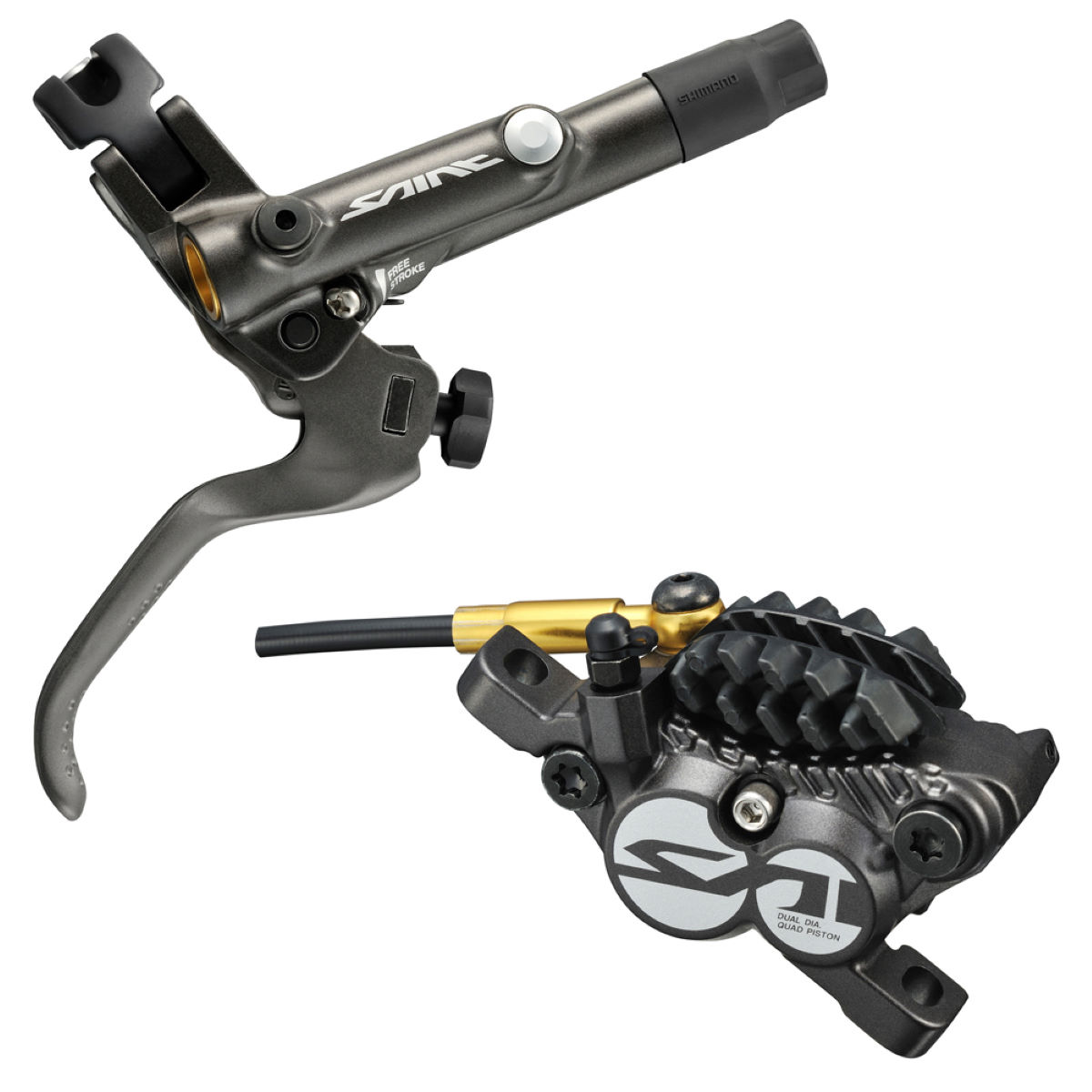 Shimano Saint M820 Fully Bled Post Mount Caliper Brake