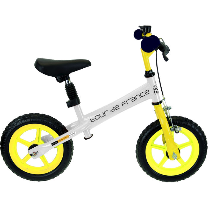Kids Tour De France Balance Bike with Front Brake