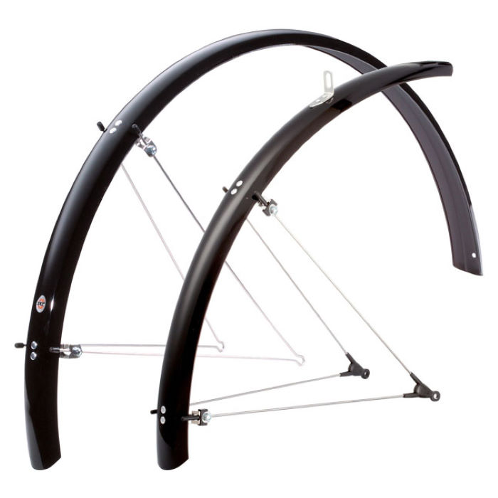 Bluemels Trekking 53mm Black Mudguards