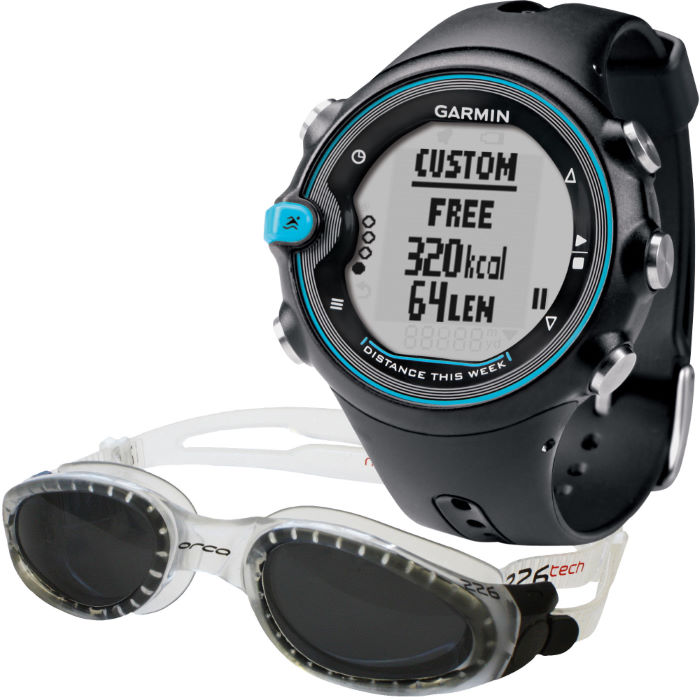 Swim Sports Watch and Free Orca 226 Tech Goggle