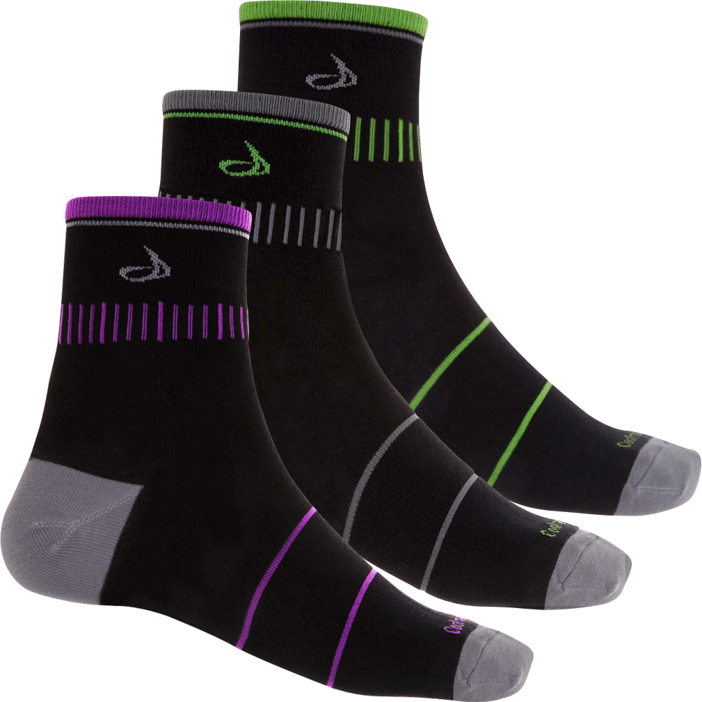 dhb 8cm Light Weight Cycling Sock Bundle - 3 Pack