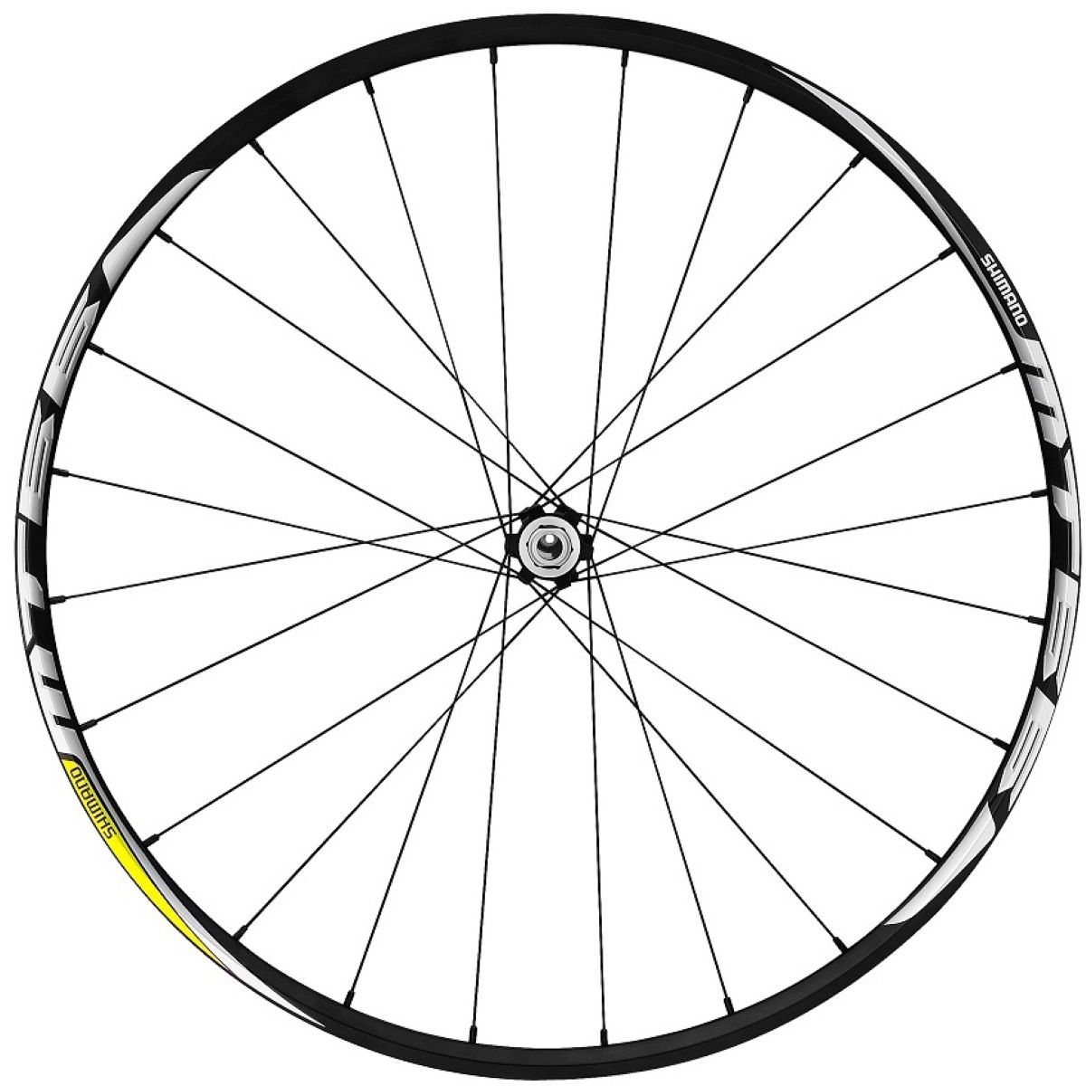 Shimano MT66 Centre-Lock (QR) Front Wheel