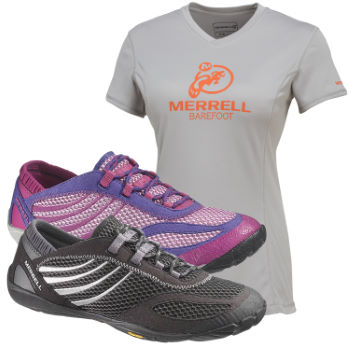 Ladies Pace Glove Shoes and Free T-Shirt