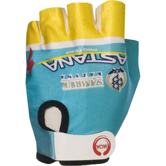 Astana Team Gloves - 2013
