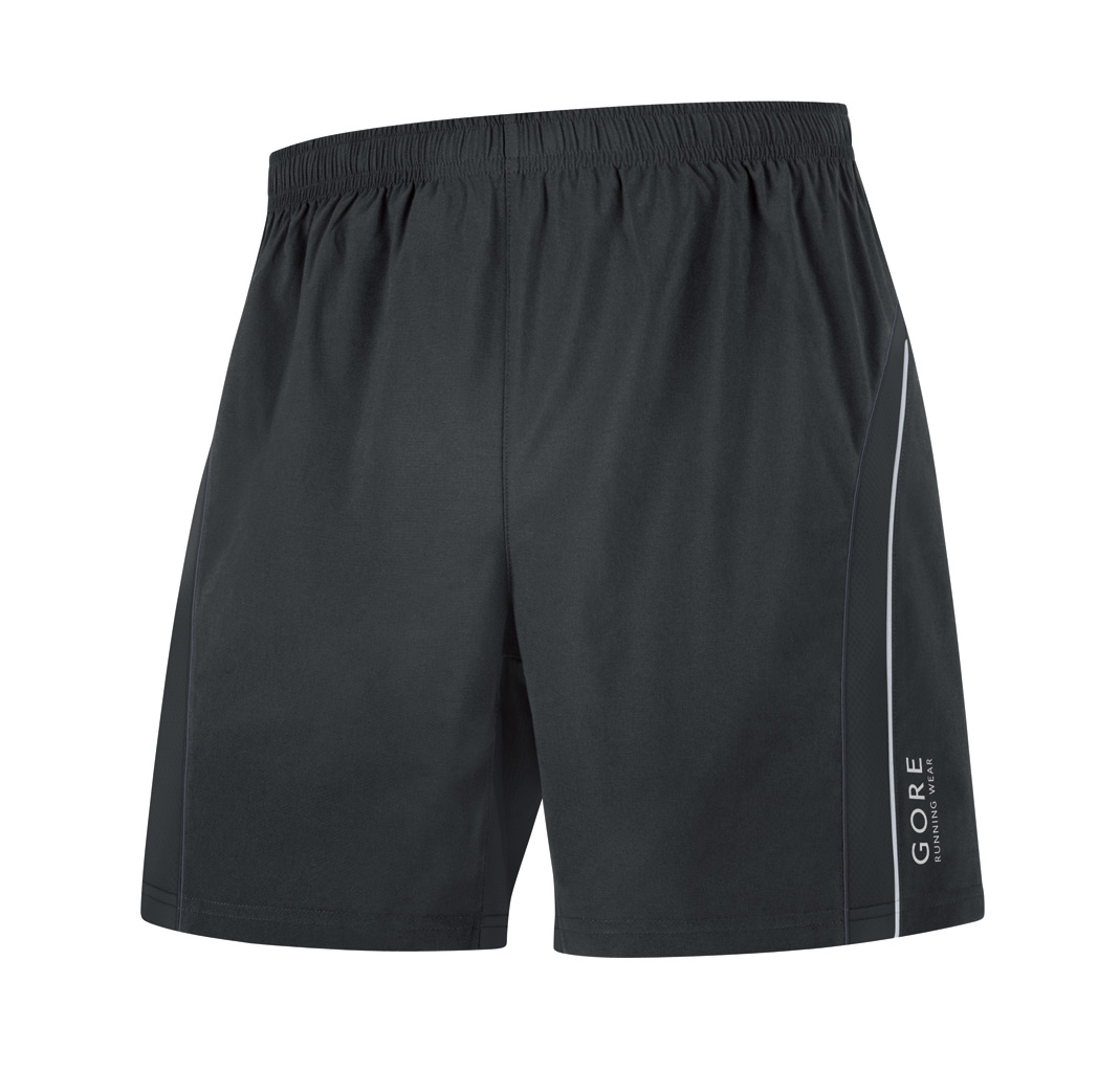 Buy running shorts - Gore Running Wear Flash Baggy Short - Small Black | Running Shorts
