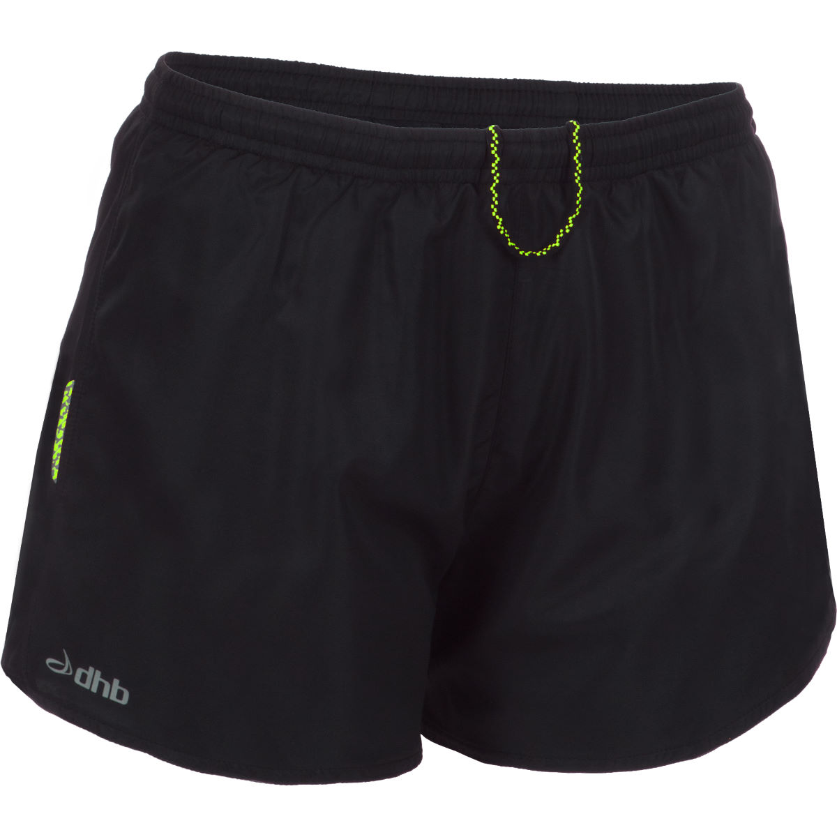 """dhb Women's Letho 3"""" Run Short () - UK 10 Black 