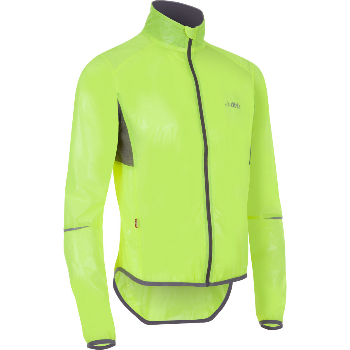 dhb Clear Fluro Race Jacket