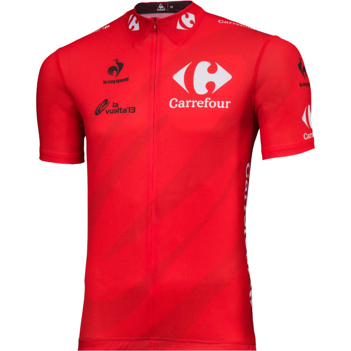 La Vuelta a Espana Leaders Red Jersey