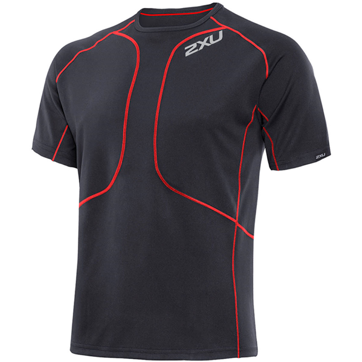 2XU Comp Short Sleeve Run Top - AW13