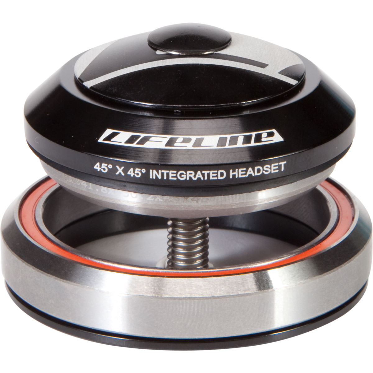 """LifeLine 1-1/8""""-1.5"""" Integrated Headset with Alloy Cap"""