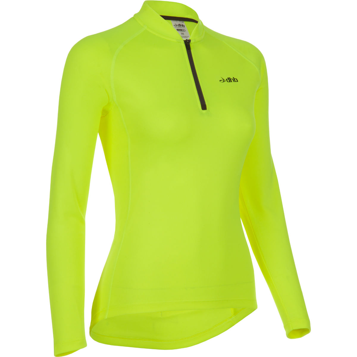 dhb Women's Active Hi Viz Long Sleeve Cycling Jersey
