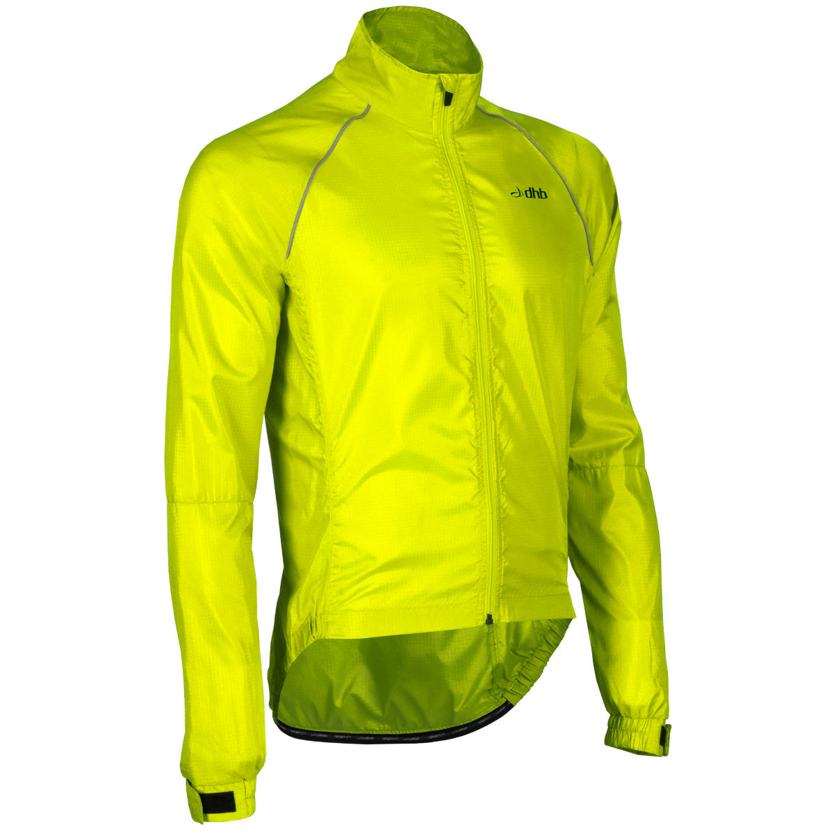 dhb Active Waterproof Hi Viz Jacket