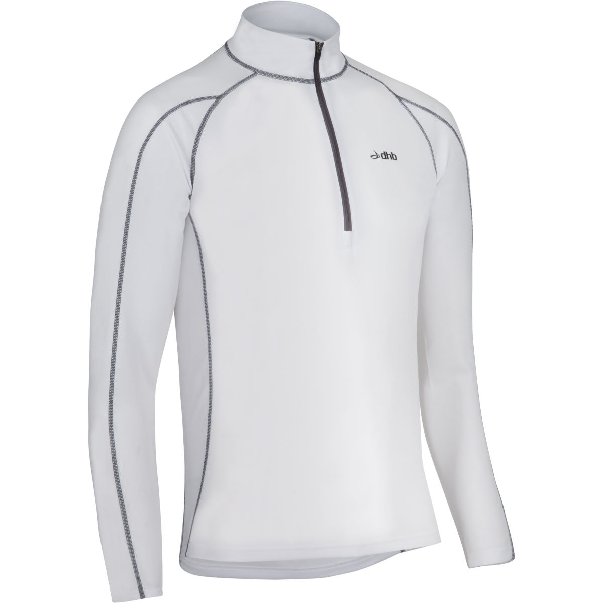 dhb Active Long Sleeve Zip Neck Base Layer