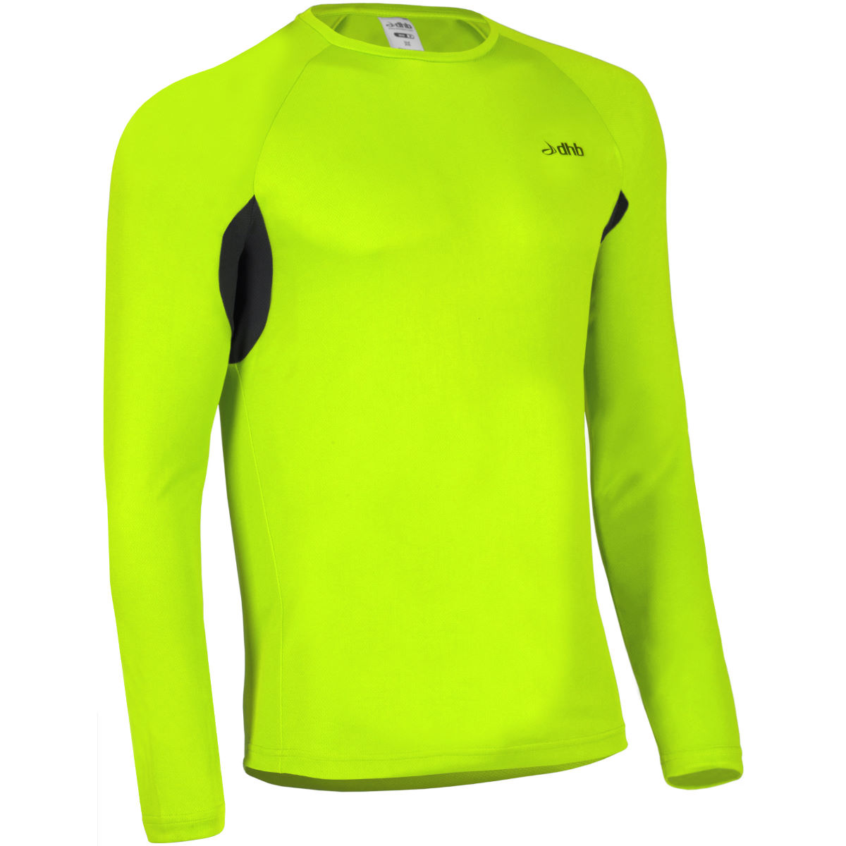 dhb Active Hi Viz Long Sleeve Run Top - AW14