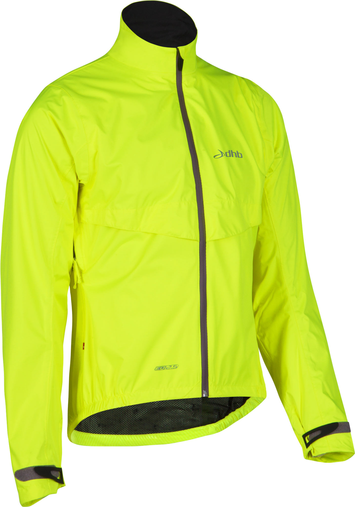 dhb EQ2.5 Fluoro Waterproof Cycling Jacket   Cycling Waterproof Jackets