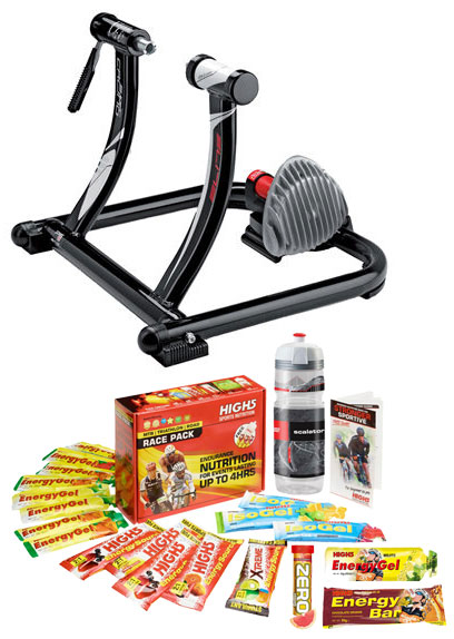 Elite SuperCrono Power Fluid ElastoGel Trainer Bundle