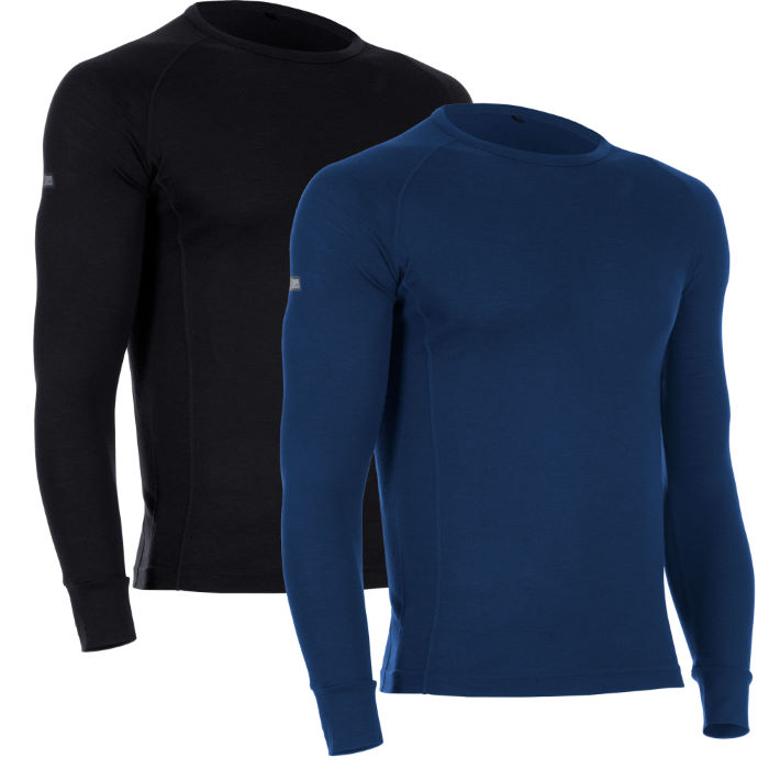 Merino Long Sleeve Base Layer-Pack of 2