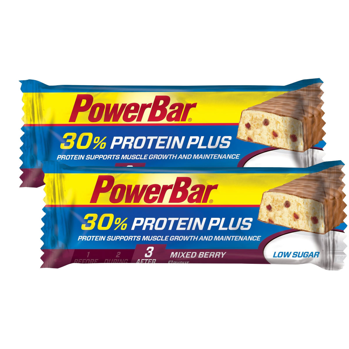 PowerBar Protein Plus Bar Mixed Berry 15 x 55g - 2 for 1