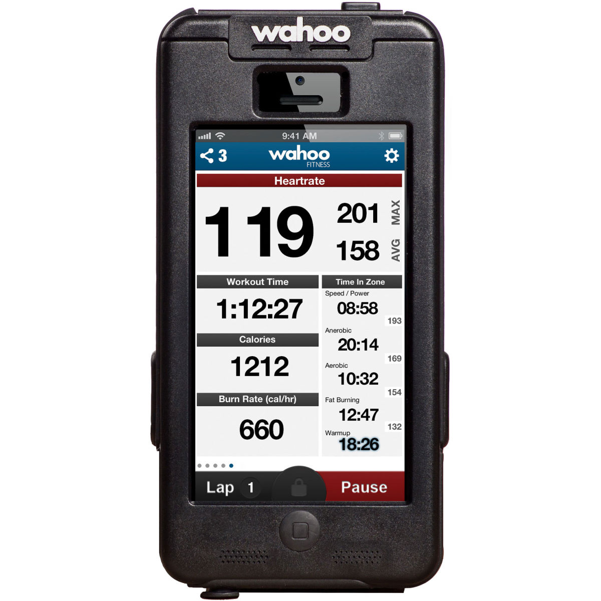 Wahoo PROTKT Bike Mount And Case For iPhone 5/5S
