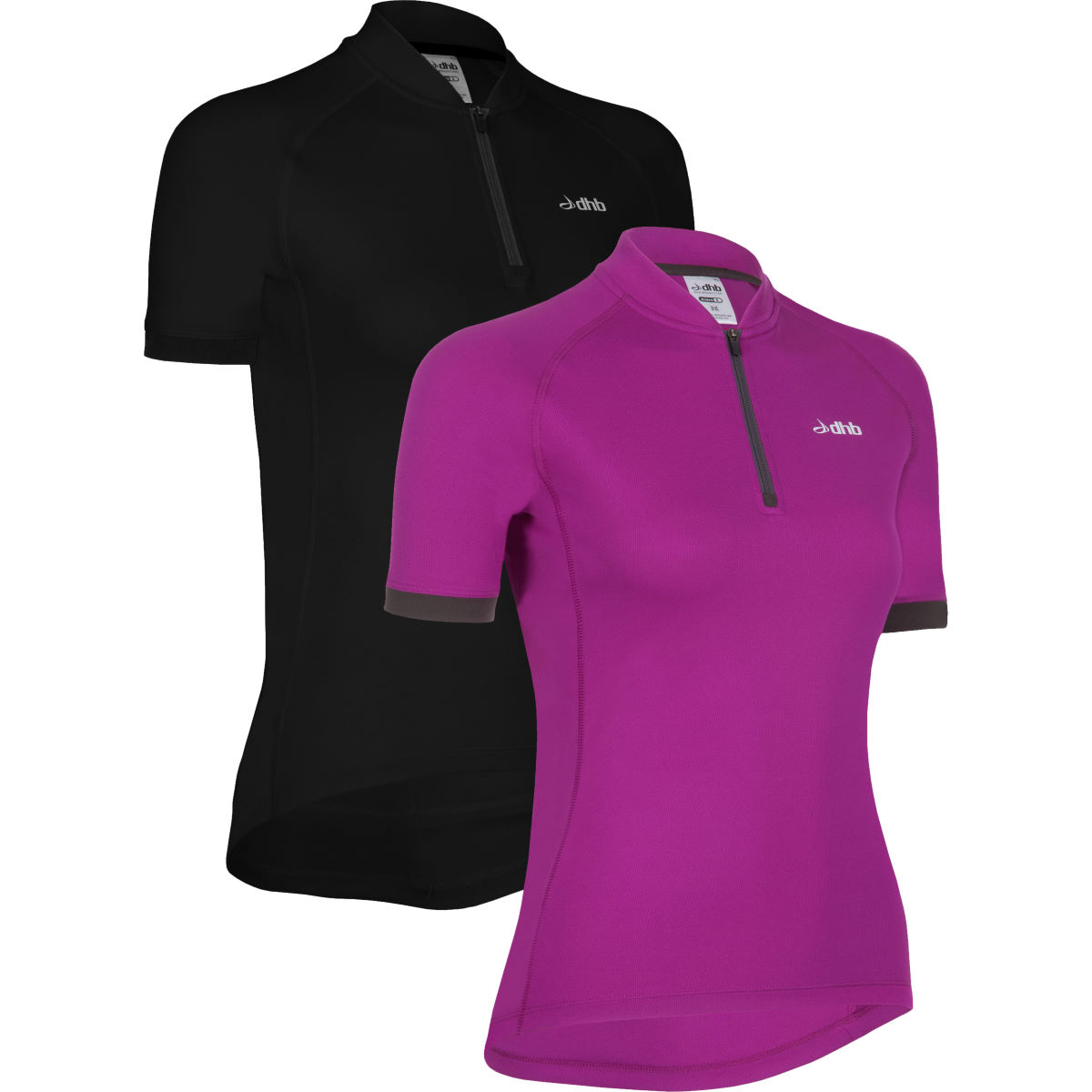 dhb Women's Active S/S Cycling Jersey-Pack of 2