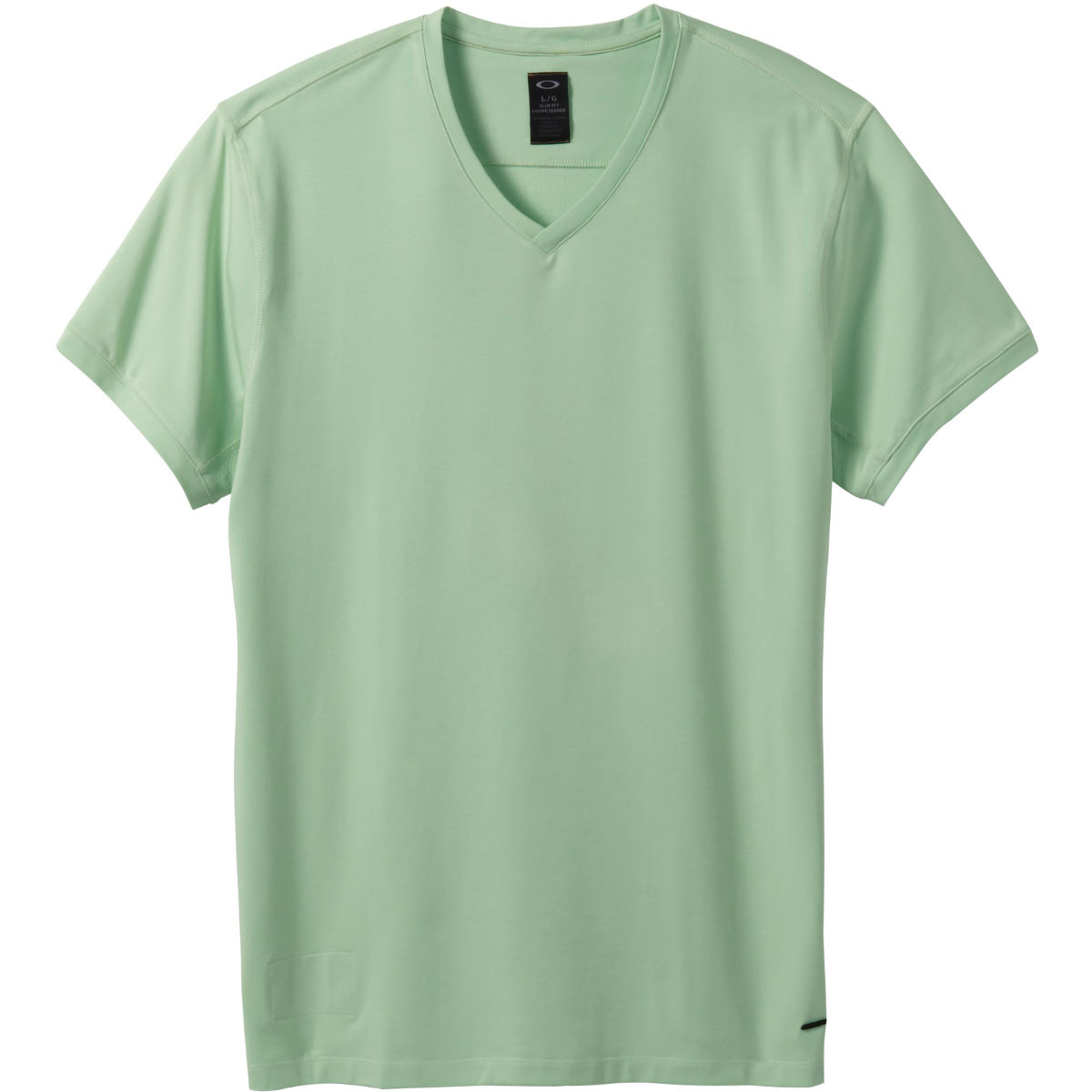 Oakley Icon V-Neck Tee - Large Pistachio Green | Tees