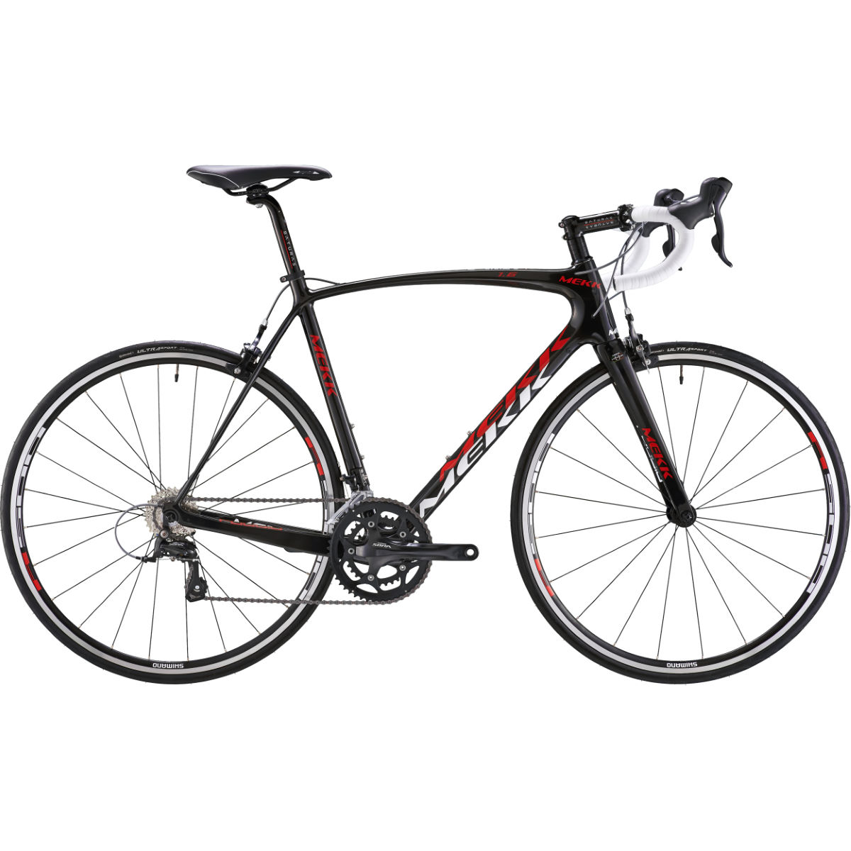 Mekk Poggio 1.5 Sora 2014 - 50cm Red/White | Road Bikes