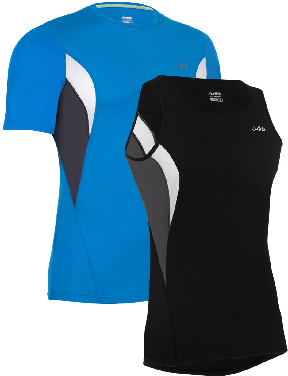 dhb Zelos SS Run Top + Singlet Bundle