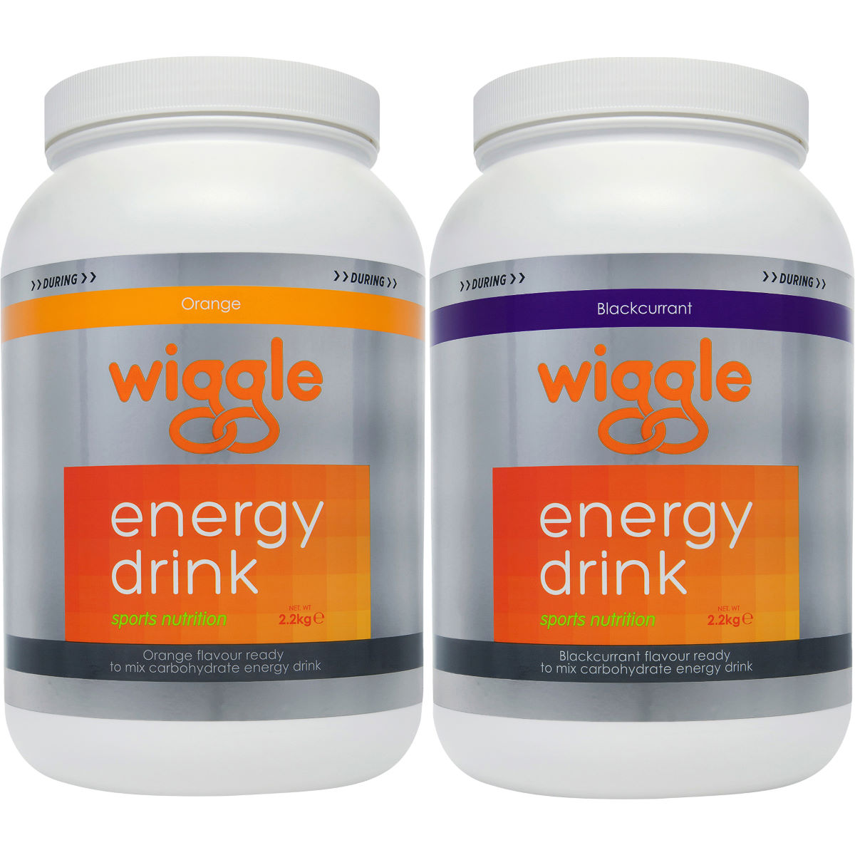 Wiggle Nutrition Energy Drink 2.2kg Tub