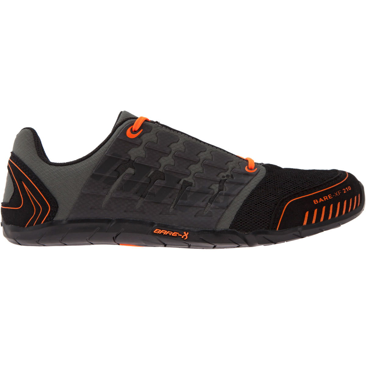 Inov-8 Bare-XF 210 Shoes (SS16) - UK 6.5 Black/Orange