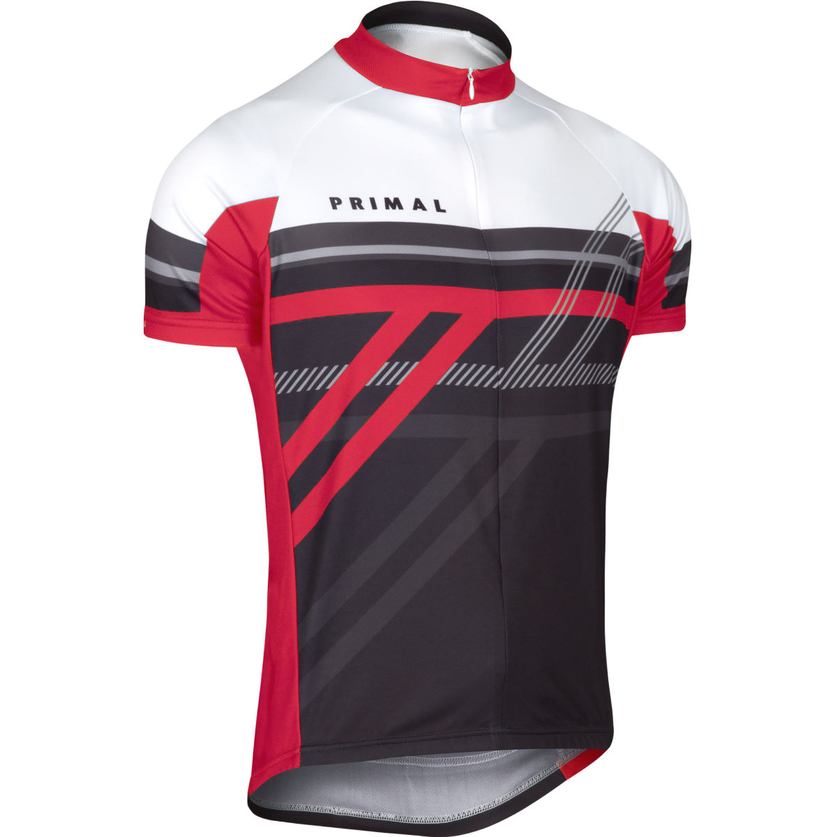 Primal Reverb Jersey - Extra Large White/Red/Grey