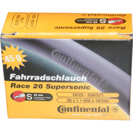 Continental 650c Supersonic Road Inner Tube   Inner Tubes