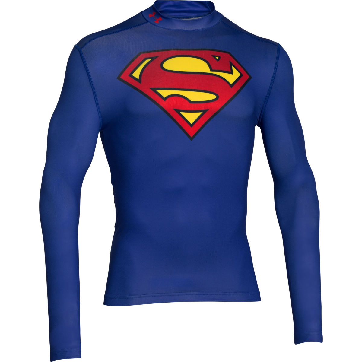 Camiseta de manga larga Under Armour Superman EVO Comp Mock - Prendas...