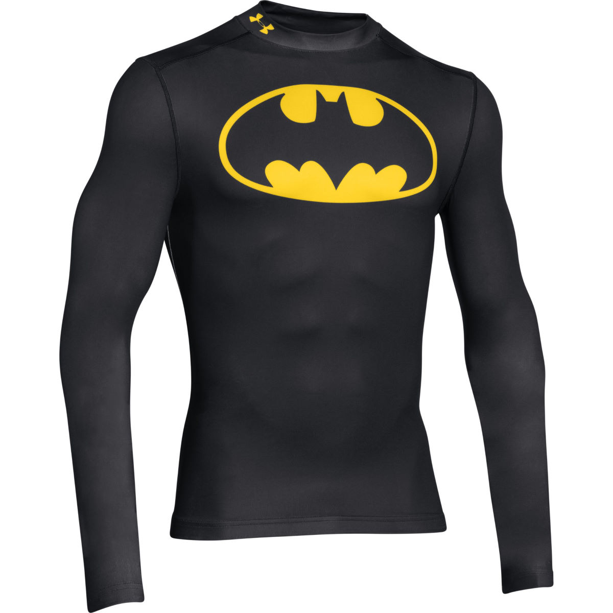 Camiseta de manga larga Under Armour Batman EVO Comp Mock - Prendas...