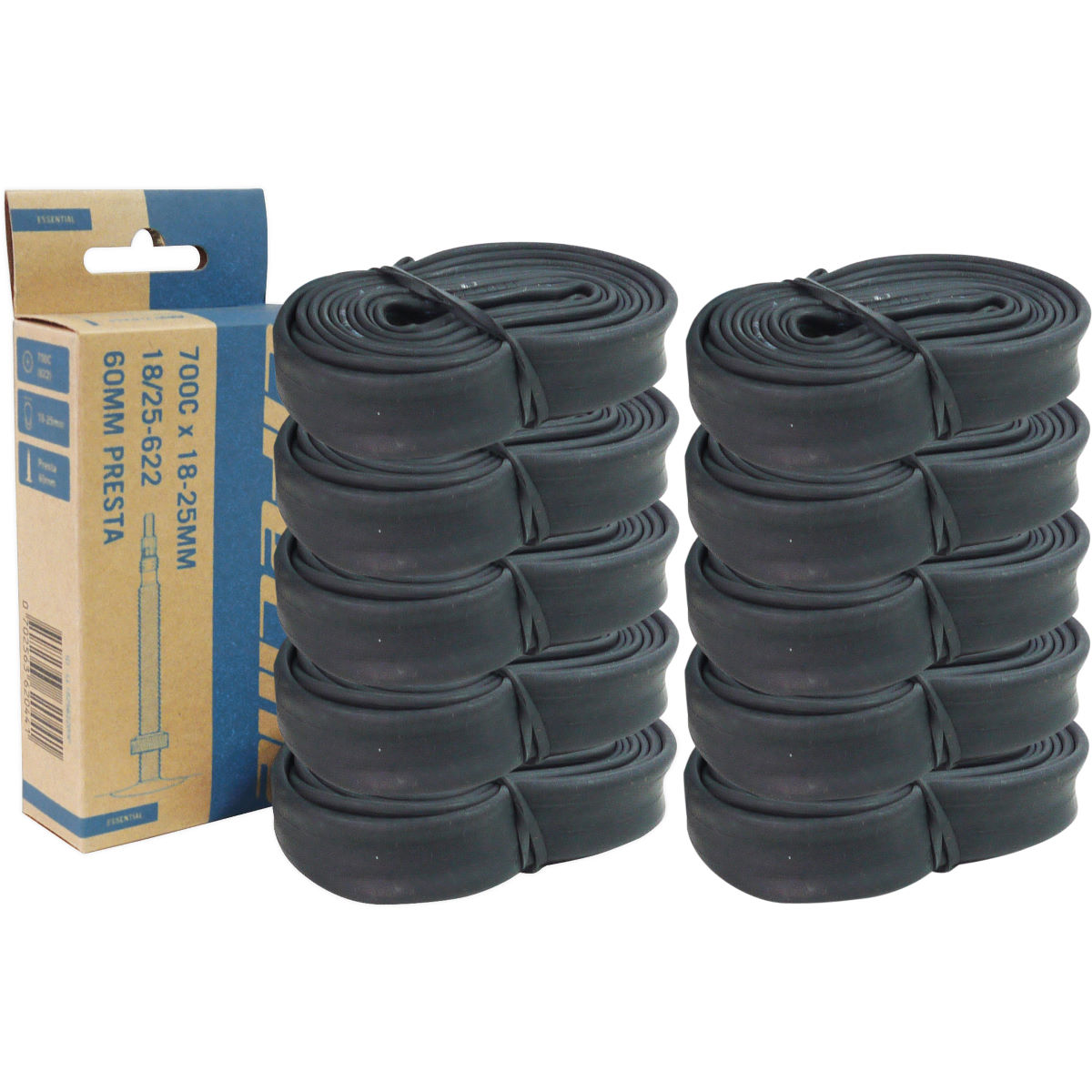 LifeLine Road 10 Pack of Inner Tubes
