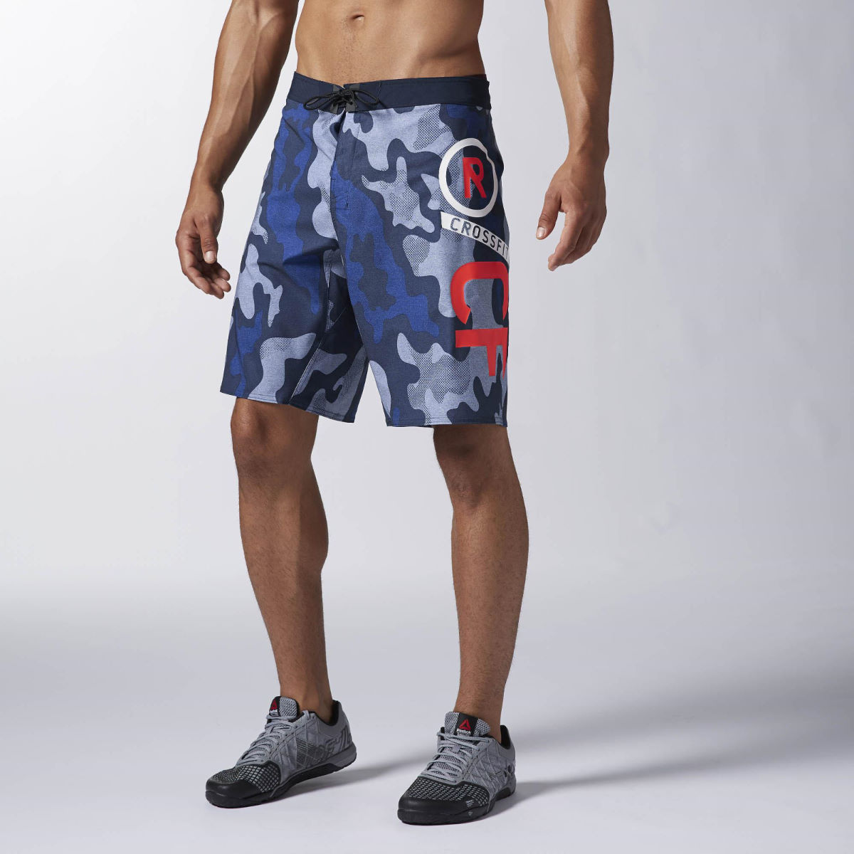 Reebok Cross Fit Board Short -  - Medium Faux Indigo