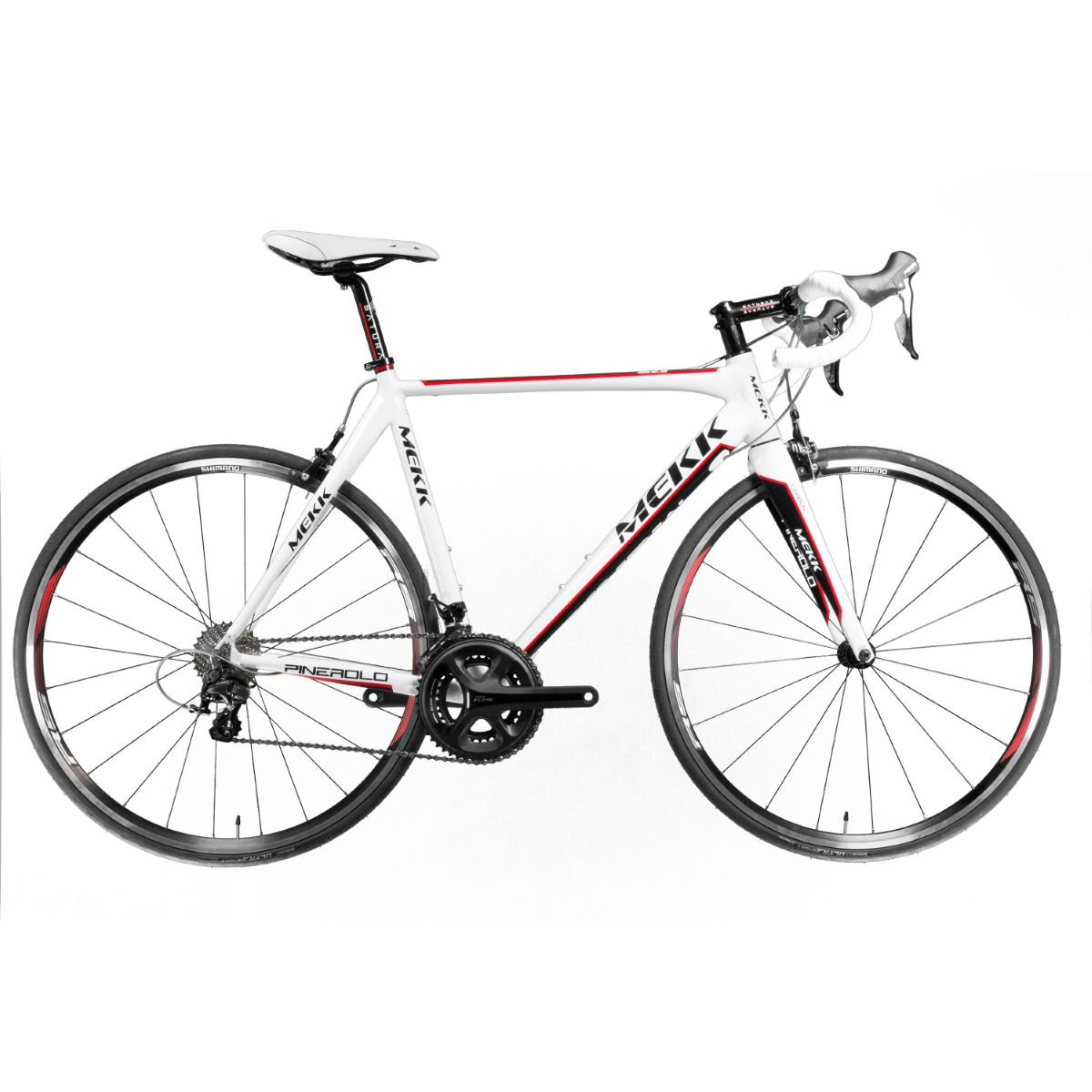 Mekk Pinerolo AL 2.6 (105 - 2015) - 54cm White/Black/Red | Road Bikes