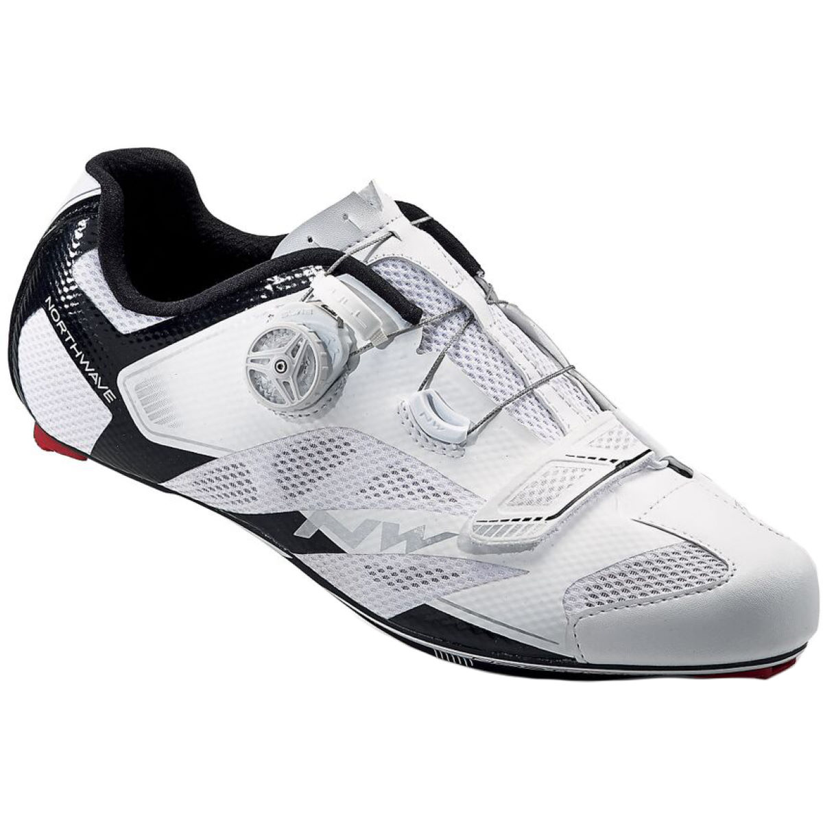 Northwave Sonic 2 Carbon - 44 White/Black | Road Shoes