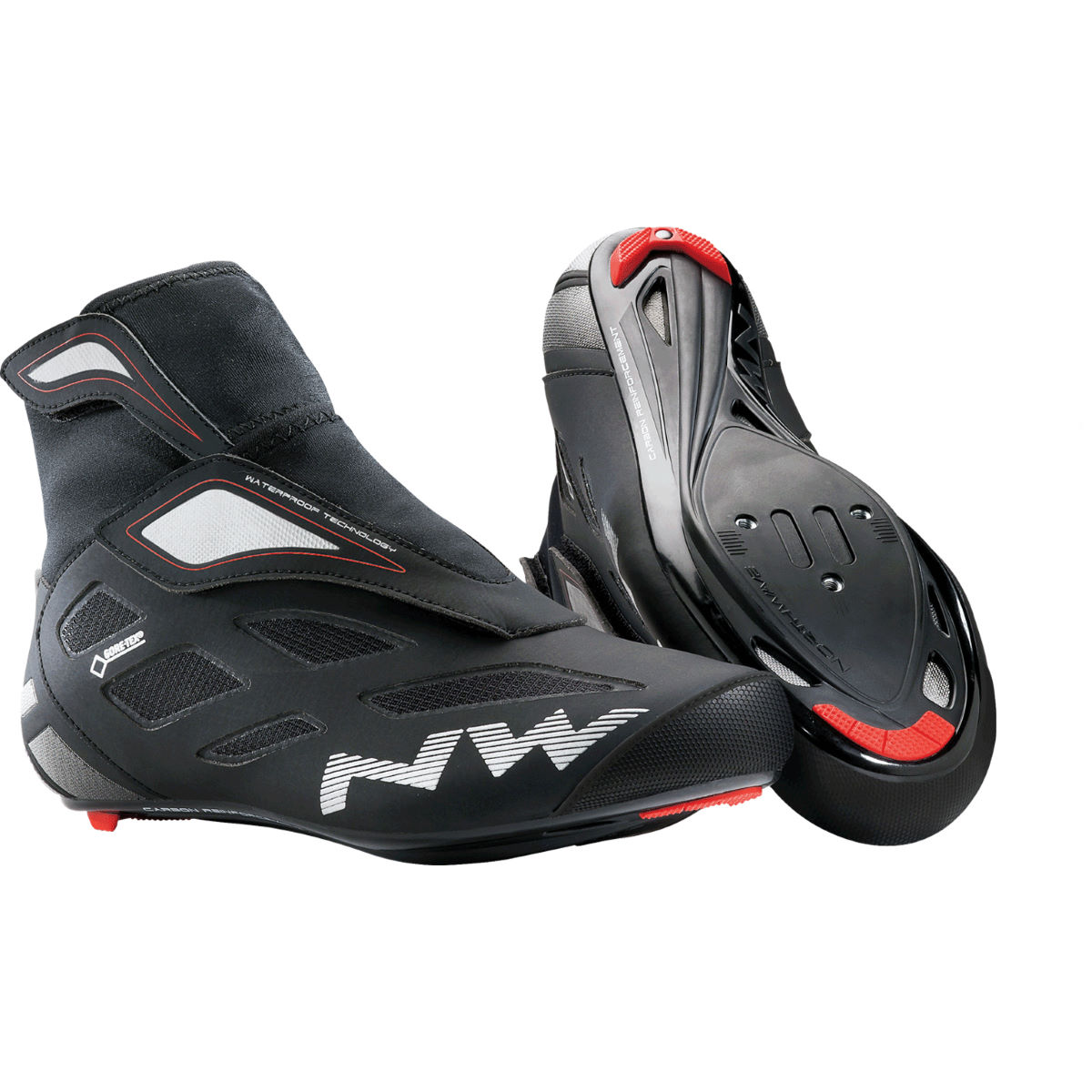 Northwave Fahrenheit 2 GTX Winter Road Shoes - 47 Black | Road Shoes