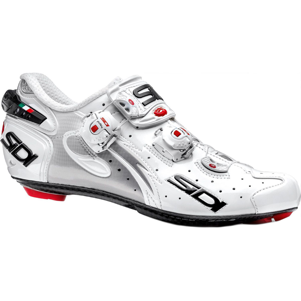 Sidi Women's Wire Carbon Road Shoe - 39.5 White/White | Road Shoes