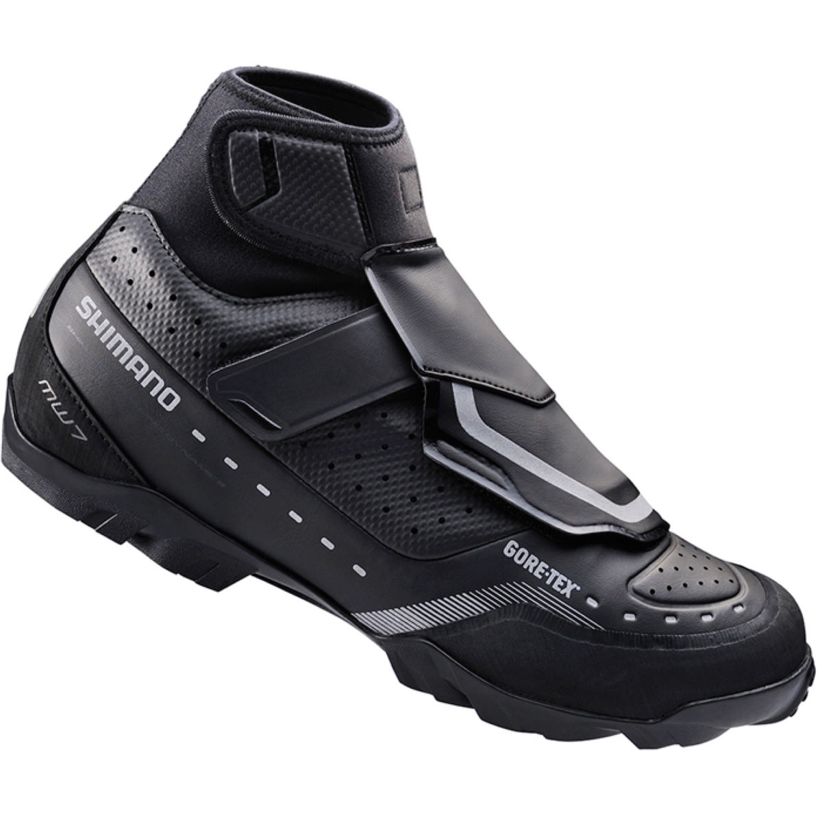 Shimano MW7 Gore-Tex SPD Shoes - 47 Black | Offroad Shoes