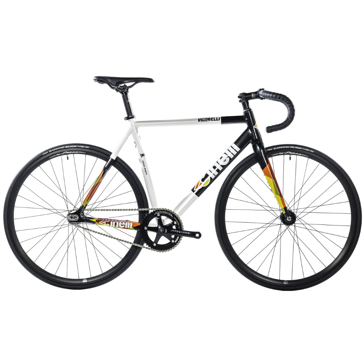 Cinelli Vigorelli HSL (2016) - Large White/Black | Track Bikes