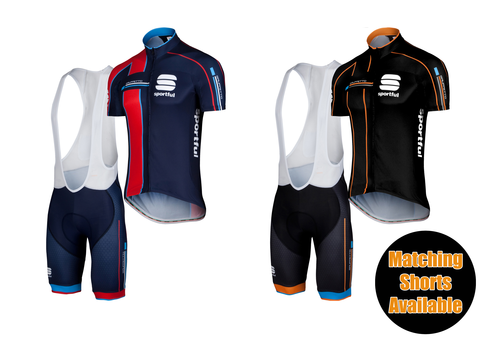 The Exclusive Gruppetto Pro Team Jersey is perfectly matched with the Sportful  Exclusive Gruppetto Pro Bib Shorts. Purchase the bib shorts to get the ... 085c08b1a
