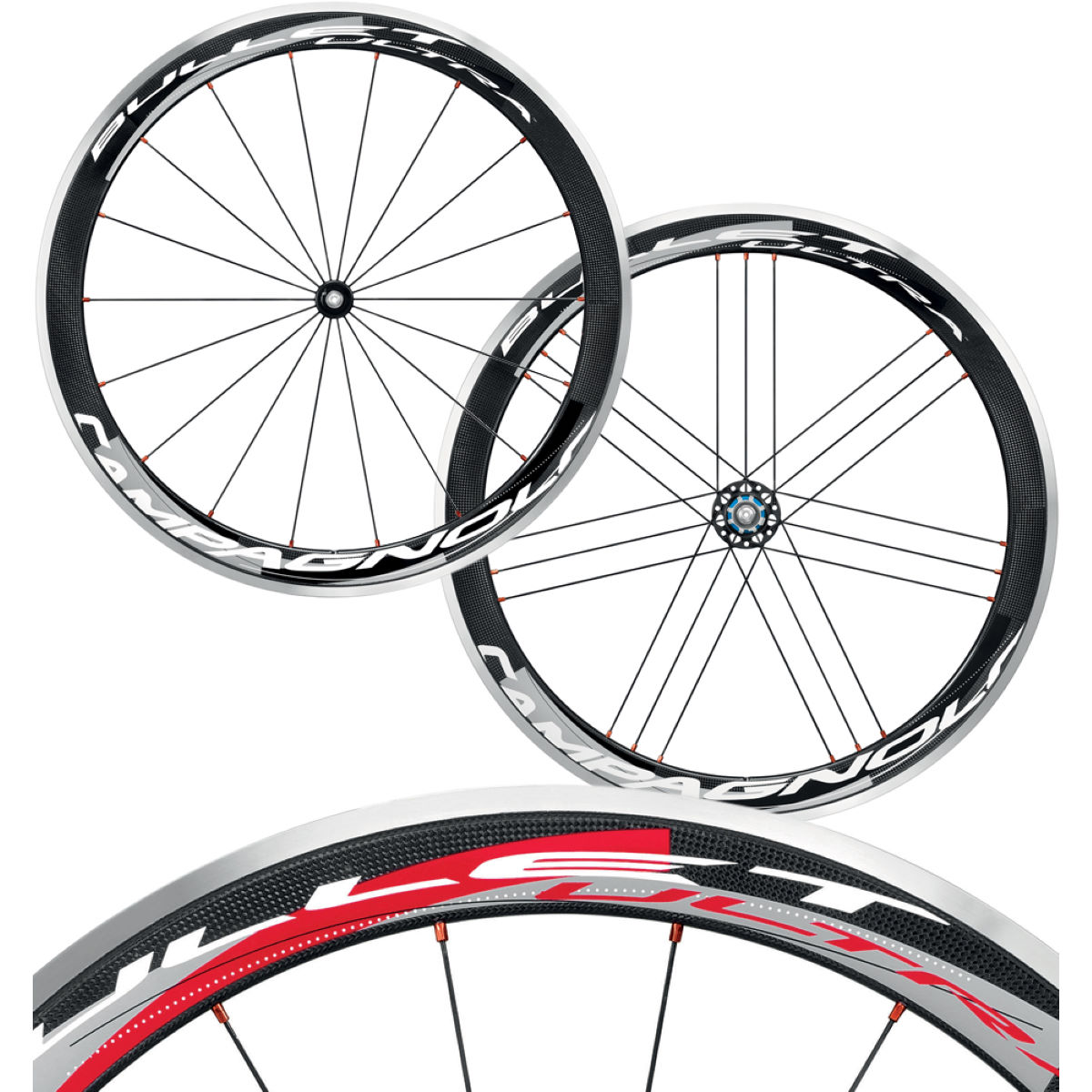 Campagnolo - Bullet Ultra カーボンクリンチャーホイールセット